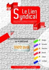 Le lien syndical n°513 – Décembre 2020