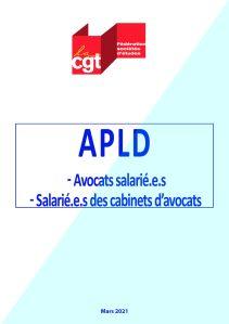 APLD – Avocats salarié.e.s & Salarié.e.s des cabinets d'avocats