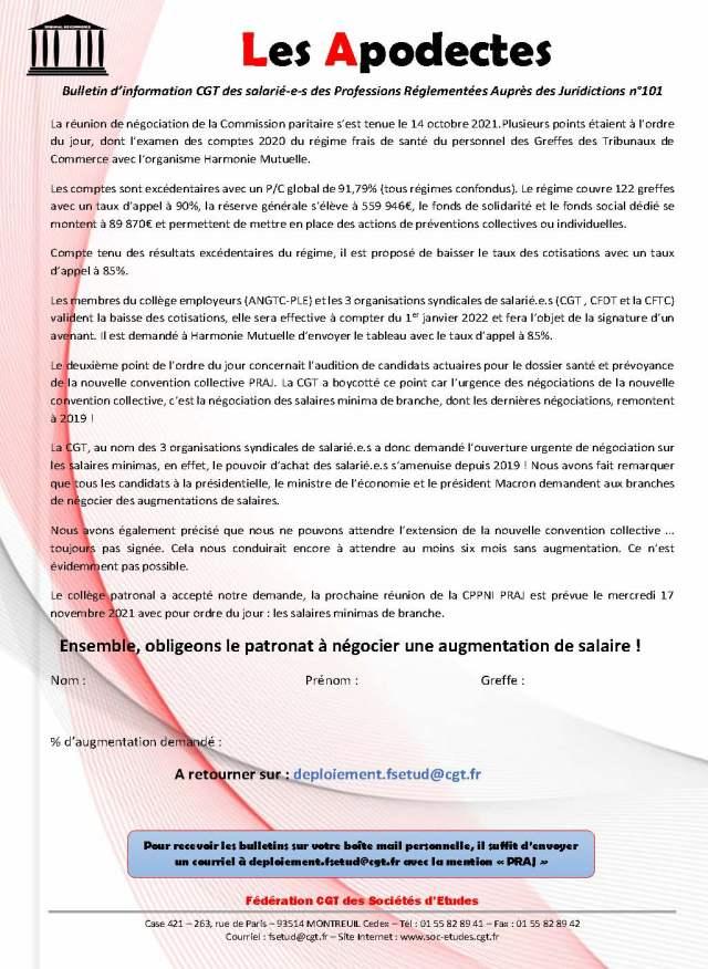 Les Apodectes n°101