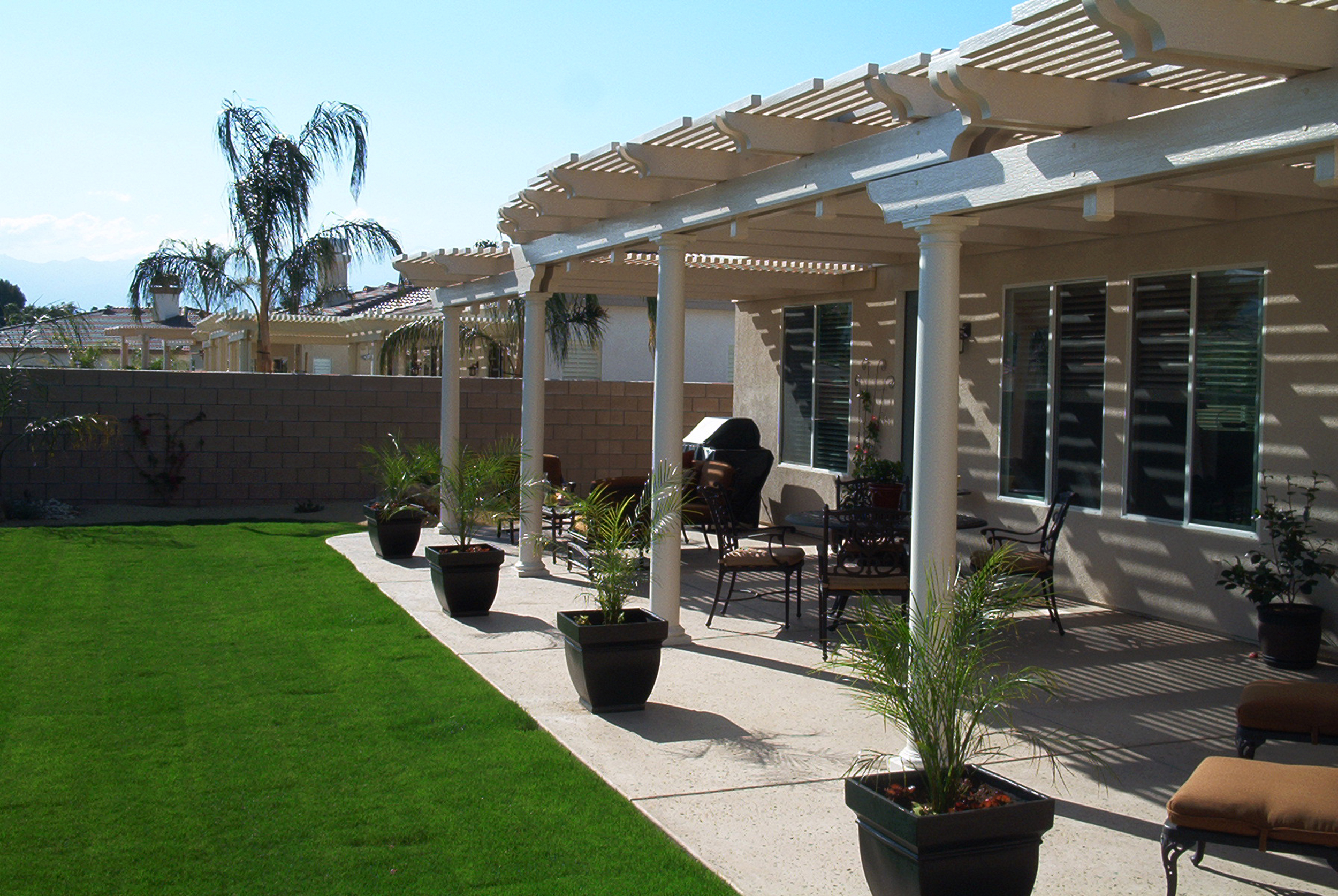 Elitewood Lattice Patio Covers - SO CAL CONTRACTORS ... on Patio Cover Ideas For Winter id=88452