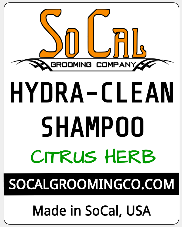 Citrus Herb Hydra Clean Shampoo Label