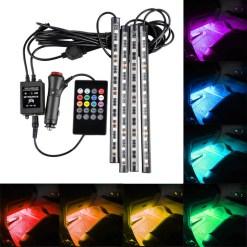 LED Interior Strip Light Kit RGB Multi-Color