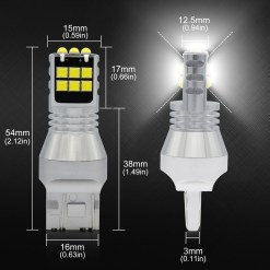 strobe led bulb reverse tail light bright white