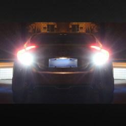 strobe led bulb reverse tail light bright white