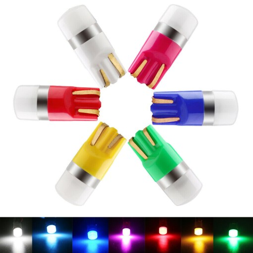T10 LED Bulbs bright colorful light
