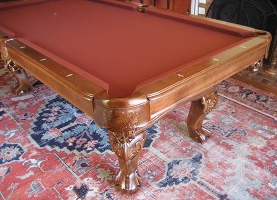 So Cal Pool Tables Heritage Teak Pool Table