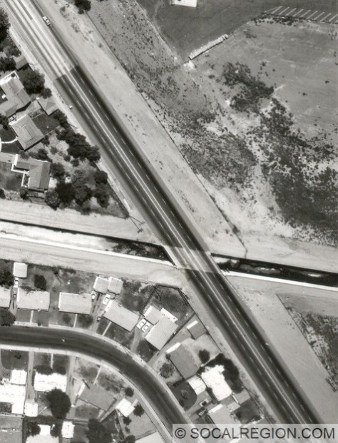 1932 San Jose Creek Bridge in 1965, then carrying only SR-71.