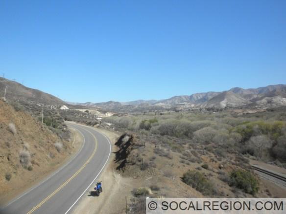 Upper Soledad Canyon, past the eastern Santa Clara River bridge.