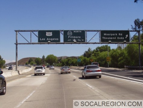 101 at the 23. These signs are fairly clean and have no extra reflectors.
