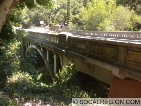 1934 Arch bridge over Topanga Creek near Fernwood.