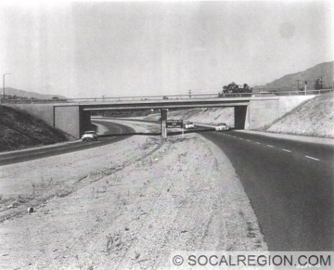 View of the Arroyo Blvd OC. This bridge is still intact. All the old signs have been removed though.