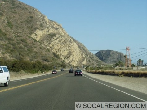 Heading south towards Pt Mugu.