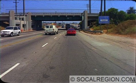 Overcrossing at Culver Ave. Courtesy - Caltrans
