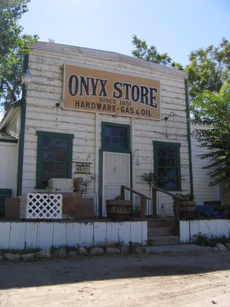 Onyx Store California : Historical tour of state route southern california