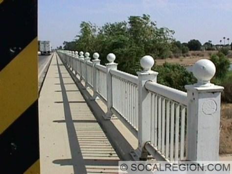 Close up of railing
