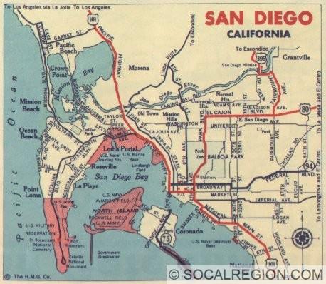 1939 San Diego Inset