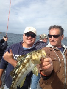 Hieu, Capt. Chris, and the eventual JP winning bass