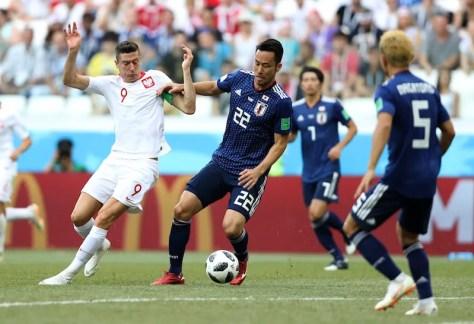 日本代表とポーランド代表が対戦した [写真]=Getty Images