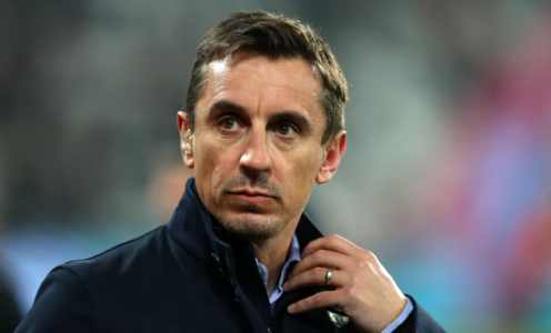 Gary Neville Makes His Pick for Player of the Year & Insists 'No-One Comes Close' to Him