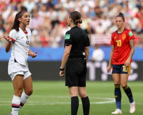 Alex Morgan Hits Out at 'Reckless' Spanish Tackling After USWNT Win Physical World Cup Clash