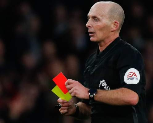 Managers & Coaches to Be Shown Yellow & Red Cards in Premier League Next Season