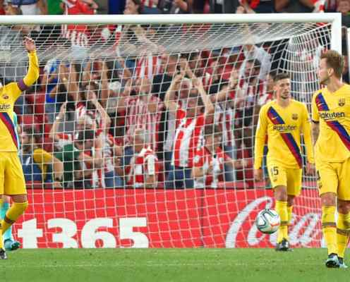 Twitter Reacts as Aduriz Stunner Gives New Barcelona Pair Nightmare Debuts at San Mames