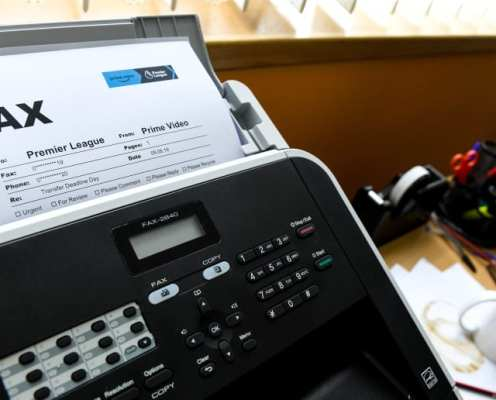 For Fax Sake: Amazon Launch Deadline Day Deal on Fax Machines to Celebrate Prime Video Matches