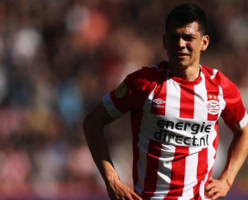 Napoli Confirm Signing of PSV Winger Hirving Lozano in €42m Deal