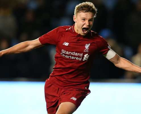 Liverpool Tie Under-18 Striker Down to New Long-Term Contract