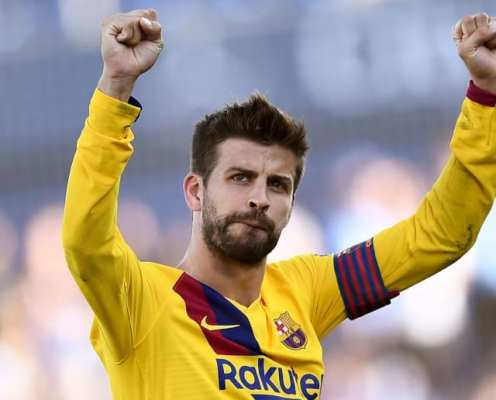 Gerard Pique Hits Out at Barcelona Board Over Newspaper Articles Criticising Squad