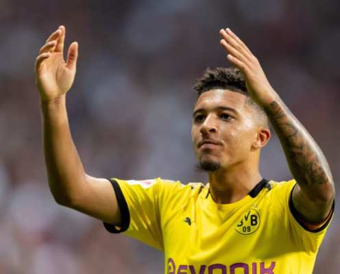Borussia Dortmund Legend Urges Jadon Sancho to Stay and Become One of the World's Best Players