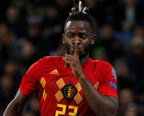 Michy Batshuayi Warned by Belgium Boss Over Lack of Playing Time at Chelsea