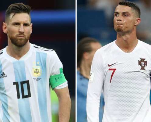 11 Players Who Have Played With Both Cristiano Ronaldo & Lionel Messi