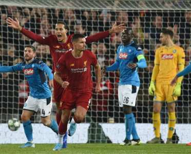 Twitter Reacts as Liverpool Struggle to Draw With Napoli in the Champions League