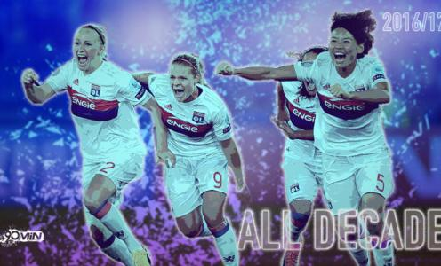 Lyon Féminin 2016/17: Retaining La Triplé & Turning Existing Dominance Into History