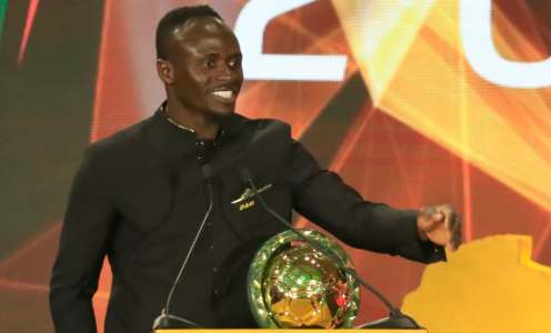 Sadio Mane Named African Player of the Year After Champions League Success With Liverpool