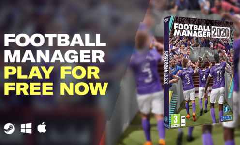 Stop Everything! Football Manager 2020 Is Free for the Next Week
