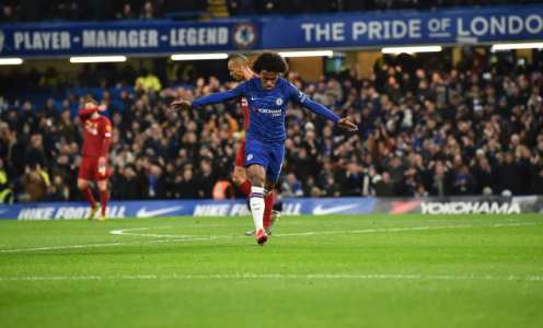 Willian Engaged in 'Favourable Negotiations' With Liverpool Ahead of Chelsea Exit
