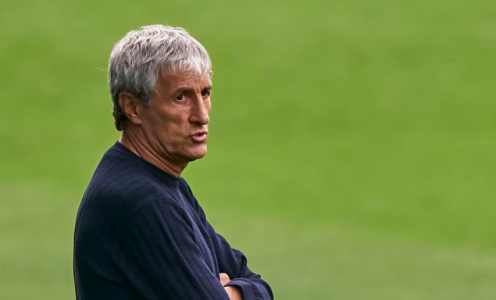 Barcelona Preparing to Sack Quique Setien as Players Row With Boss