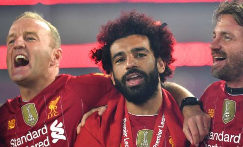 'Happy' Mohamed Salah Stays Coy on Liverpool Future After Premier League Title Win