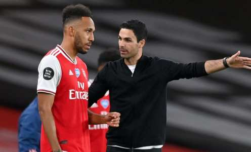 Mikel Arteta Provides Update on Pierre-Emerick Aubameyang Contract Talks