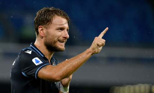 Ciro Immobile Equals Serie A Goals Record in Lazio's 3-1 Defeat to Napoli