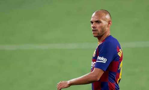 Martin Braithwaite Asks to Have Barcelona Number 10 Shirt if Lionel Messi Leaves