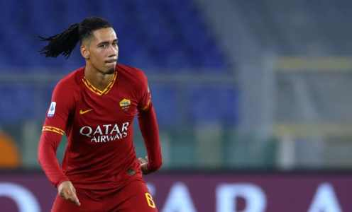Chris Smalling Set for Last Roma Game as Return to Manchester United Beckons