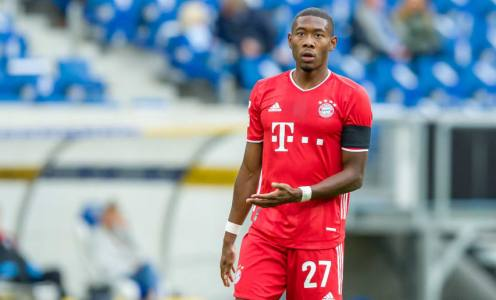 Juventus Target David Alaba as a Free Agent Next Summer