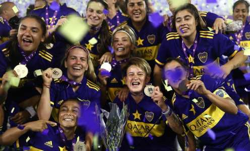 Boca Juniors smash River Plate to win Argentina's first pro women's championship