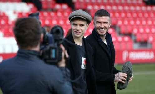 David Beckham's son signs professional contract with Fort Lauderdale FC