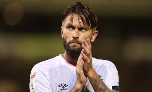 Henri Lansbury boots Ryan Manning into the middle of next week with brutal kick