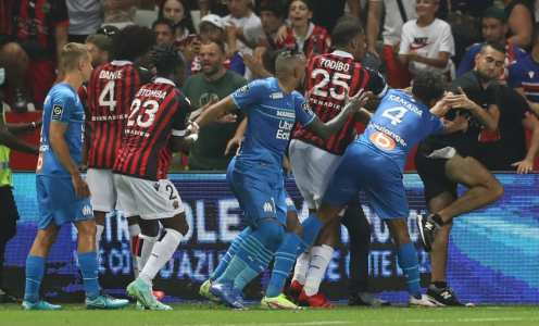Nice docked two points by Ligue 1 after Marseille brawl