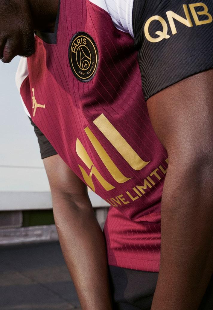 psg x jordan reveal 20 21 third shirt